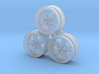 CATERHAM REVOLUTION 5x Spoke x3 Frosted Ultra Deta 3d printed