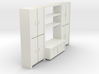 A 002 living wall Schrank cupboard HO 1:87 3d printed