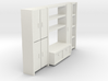 A 001 living wall Schrank cupboard HO 1:87 3d printed