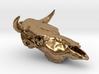 Bull Skull Pendant  3d printed