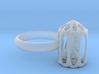 Ring Mit Vogel 3d printed