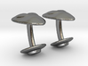 Alien Abductor Cufflinks 3d printed