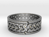 Infinite Celtic Knot Ring 3d printed