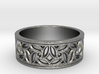 Gothic Pinwheel Tracery Ring 3d printed