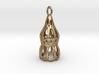 Dictyocysta pendant 3d printed