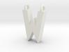 Alphabet (W) 3d printed Collection: Alphabet