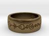 """Live Long & Prosper"" Ring - Engraved Style 3d printed"