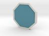 Mineral Badge - Johto Pokemon Bagdes 3d printed