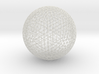 Space Frame Geodesic Sphere 3d printed