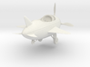 Cartoon Plane (Small) 3d printed