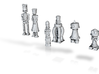 Robot #Chess Set 3d printed