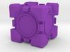 Companion Cube 10x10mm 3d printed