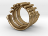 Snake Ring 3d printed