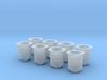 1/20 Short Weber Velocity Stacks 3d printed