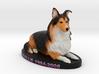 Custom Dog Figurine - Callie 3d printed