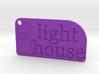 Light House Key Chain 3d printed