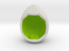 LuminOrb 1.2 - Egg Stand 3d printed Shapeways render of Egg Display Stand for SELFLESSNESS in Full Color Sandstone