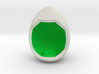 LuminOrb 2.2 - Egg Stand 3d printed Shapeways Render of Egg Display Stands with PEACE amongst LuminOrb Series I and II