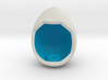 LuminOrb 1.8 - Egg Stand 3d printed Shapeways render of Egg Display Stand for MINDFULNESS in Full Color Sandstone