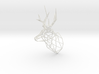 3D Printed Stag Deer 150mm Facing Right  3d printed