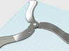 R.A.G.E- Wingstick (working boomerang) 3d printed