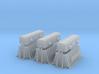 SET 3x Thermohauben (N 1:160) 3d printed