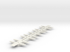 Miscellaneous Freight Car Frame (1/87th) 65'  3d printed