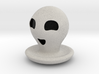 Halloween Character Hollowed Figurine: HappyGhosty 3d printed