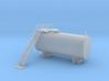 Clay Spur Diesel Fuel Tank 10 Z Scale 3d printed Clay Spur Diesel Fuel Tank z scale