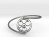 John - Bracelet Thin Spiral 3d printed