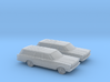 1/160 2X 1966 Ford Country Squire 3d printed