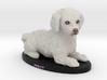 Custom Dog Figurine - Percy 3d printed