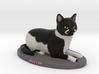 Custom Cat Figurine - Bullet 3d printed