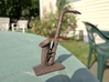 Alto Saxophone (Metals) 3d printed Polished bronze steel shimmering in the sun.