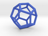 Dodecahedron(Leonardo-style model) 3d printed