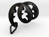 Teddy Bear Spiral Pendant   3d printed