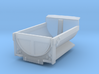 Dump Truck Bed 2 Z Scale 3d printed