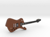Iceman Shape Guitar 1:18 3d printed