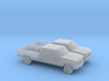 1/160 2X 1997 Ford F350 Crew Cab 3d printed