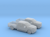 1/160 2X 2011 Ford F-Series Crew Cab 3d printed