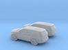 1/160 2X 2011 Ford Explorer 3d printed