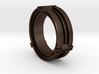 Daletox ring (Size 12) 3d printed