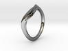 Pride Ring, Side 1 3d printed
