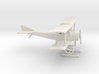 Sikorsky S-16 with skis [flying position] 3d printed 1:144 Sikorsky S-16 in WSF