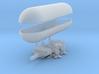 1/1000 Caravel Airship 3d printed