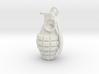Grenade pendant 3d printed