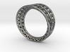 Lattice Framework Modern Ring 3d printed
