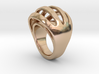 RING CRAZY 31 - ITALIAN SIZE 31  3d printed