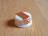 Apple Replacement Battery Cap 3d printed Example with Copper Tape (Makerbot Print)