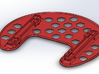 Phantom SnowShoe 3d printed SolidWorks Render